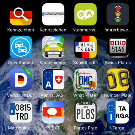 Saisonkennzeichen Von Wann Bis Wann Motorrad by Kfz Kennzeichen Apps Die Informations Apps Kennzeichen