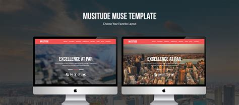 one page parallax template free 10 professional muse website templates idevie