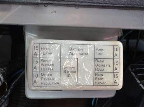 nissan 1400 bakkie fuse box diagram nissan automotive