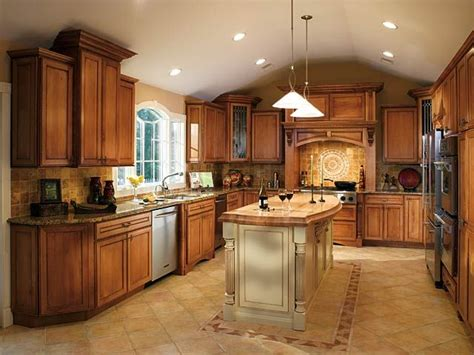 Glazed Maple Kitchen Cabinets Cinnamon Maple Glazed Kitchen Cabinets Quicua