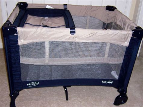Playard With Changing Table Evenflo Baby Go Portable Playard Playpen With Bassinet Changing Table Evenflo Baby