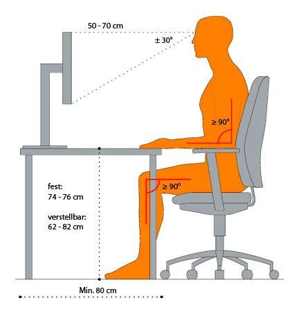 sitzposition schreibtisch optimale sitzposition am schreibtisch forafrica