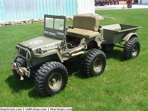 mini jeep for mini jeep w trailer frankenmuth mi sold ewillys