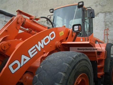 daewoo dl 400 2006 wheeled loader construction equipment