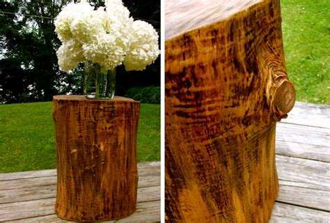 tree stump table diy diy tree stump table a daily something