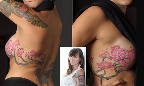 tattoo nipple breast reconstruction bidexmedia breast cancer survivor covers mastectomy scars