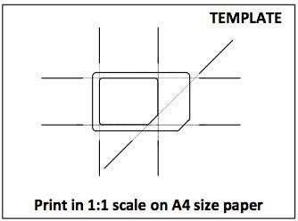 micro sim card template for iphone 4 pdf como hacer una micro sim de una sim convencional