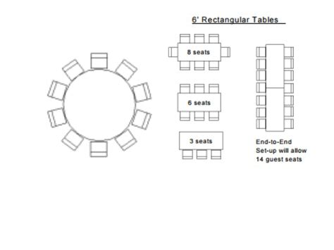 8 rectangular table seats how many how many can sit at an eight table