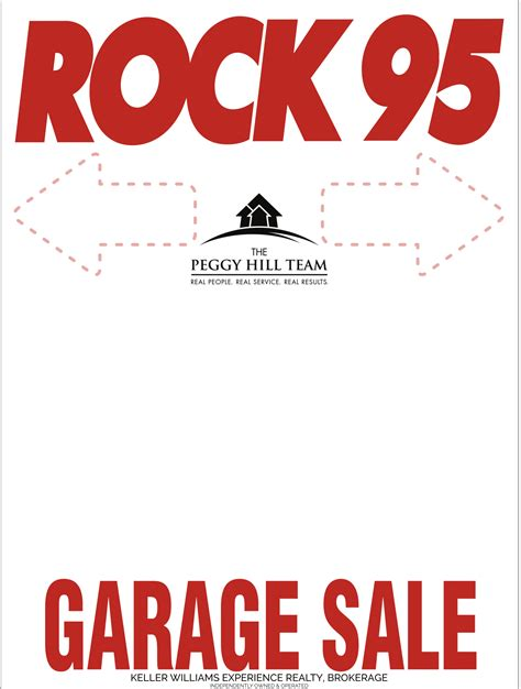 Garage Sales Rock Garage Sales Rock 95