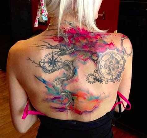 watercolor unique tattoo 309 best ideas images on