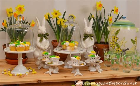 Pottery Barn Dining Room Set spring easter dessert buffet for outdoor party