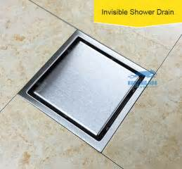 150x150 square drain bathroom bath shower cover filter