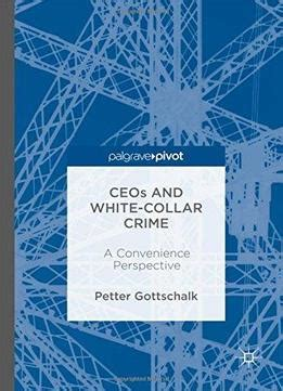 white collar crime an opportunity perspective criminology and justice studies books ceos and white collar crime a convenience perspective