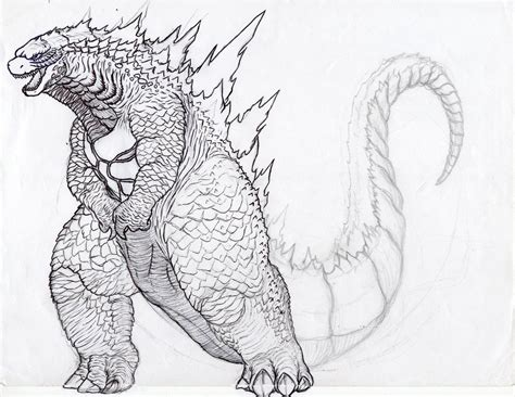 godzilla 2 coloring pages godzilla 2014 coloring page az coloring pages
