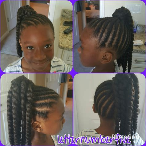 crochet ponytail hairstyles crochet ponytail with cornrows crochet styles for little