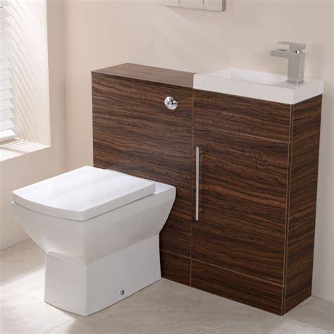 Aspen Bathroom Furniture Aspen Walnut Combination Unit