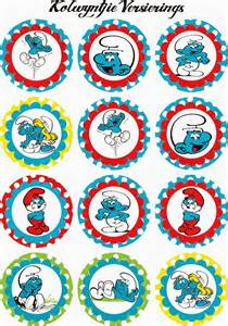 smurfs free printable mini kit parties