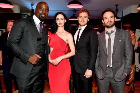 mike colter and finn jones gummy bears and oasis help the defenders bond latest tv