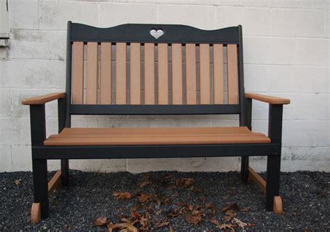 black porch bench porch back