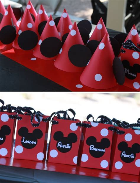 Mickey Mouse Party Giveaways - best 25 mickey mouse favors ideas on pinterest