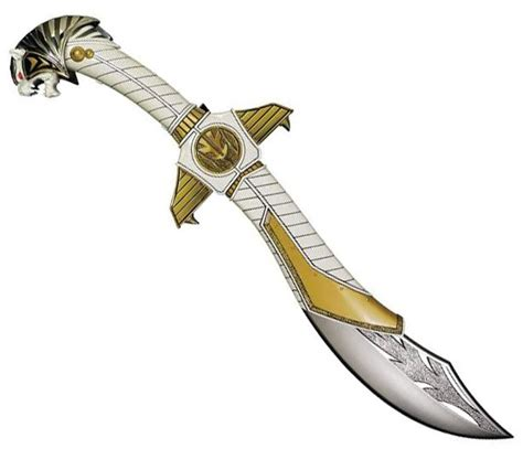 How To Make A Power Ranger Sword Out Of Paper - power rangers dino charge replica white ranger legacy
