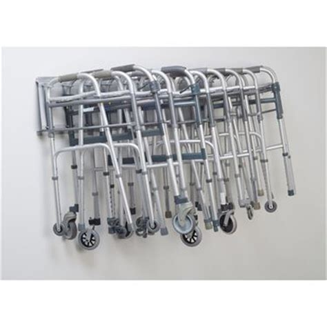 folding walker storage rack marketlab inc