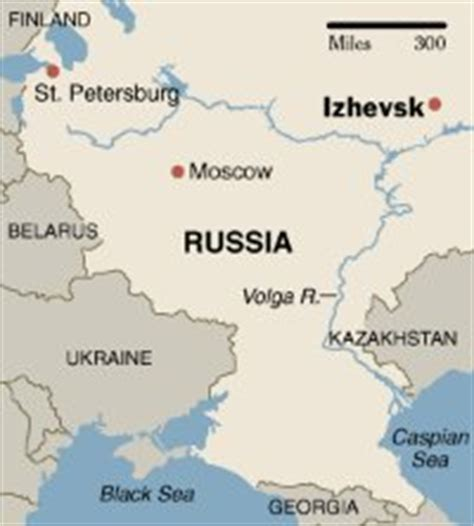russia izhevsk map teaching in russia