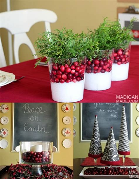 Make Your Own Dining Room Table 21 beautifully festive christmas centerpieces you can