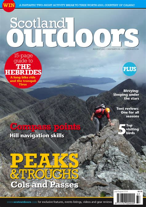 nature scotland outdoors magazine issue 37 scotland outdoors magazine