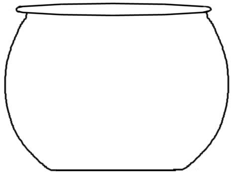 fish bowl template clipart best