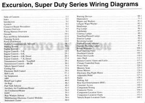 2003 ford excursion f duty 250 350 450 550 wiring diagram manual