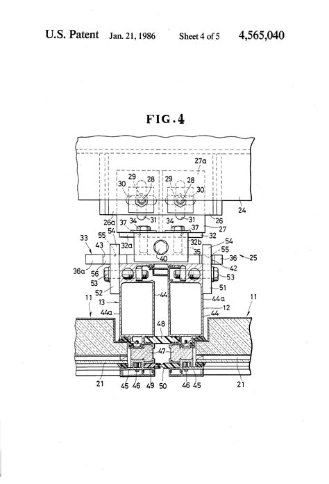 cupples curtain wall patent us4565040 unit curtain wall google patents