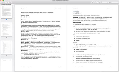 Business Case Template Apple Iwork Pages Letter Template Pages Iwork