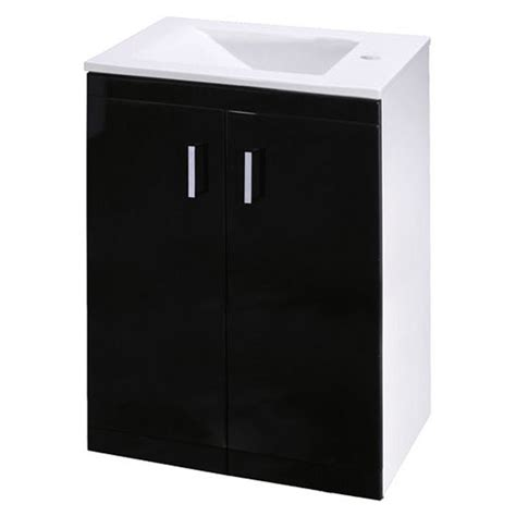 premier liberty floor standing vanity unit high gloss