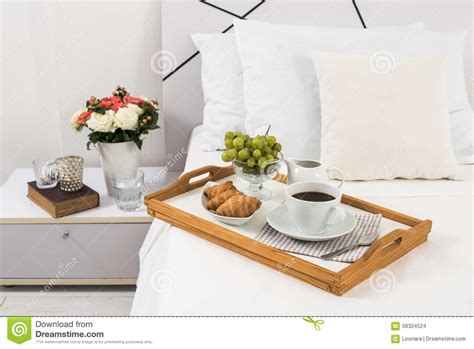 breakfast in bed table breakfast in bed stock photo image of food comfort 58324524