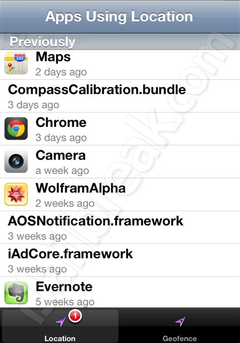 Apps To Find S Location Apps Using Location Finds Which Apps Are Using Location Services On Ios