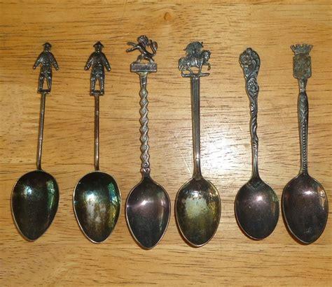 L 561 Lu Gantung Vintage collector souvenir sterling silver spoon lot vintage antique nils luxembourg ebay