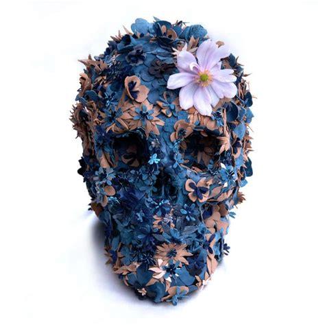 Flower Skull jacky tsai s floral skulls beautiful decay