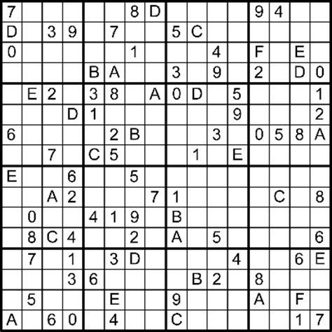 printable hexadecimal sudoku printable blank sudoku grid new calendar template site