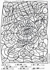 Coloriage Magique Avec Les Table De Multiplication L L L L