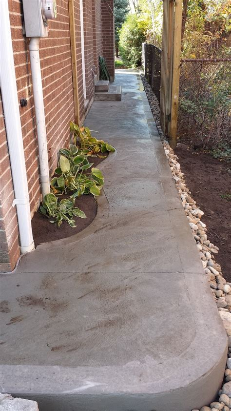 side walkway 28 images pebbled pathway need to do