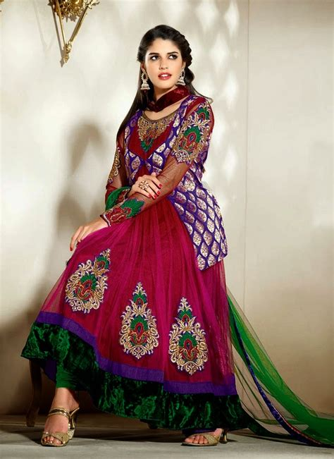 jacket design frocks pakistani jacket style double shirt frocks 2014 dosheeza