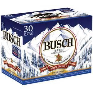 busch 12 fl oz 30 pack beverages walmart