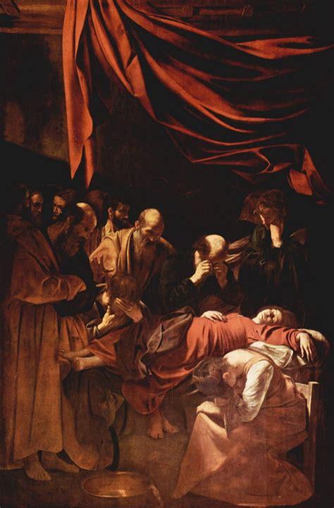 la morte in morte della vergine di caravaggio analisi