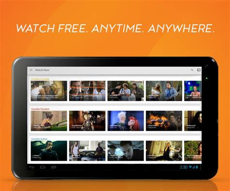 free tv for android crackle free tv android apps on play