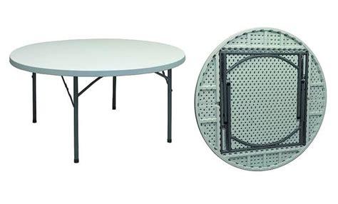 tavolo tondo pieghevole tavolo tondo pieghevole con base in ferro verniciato