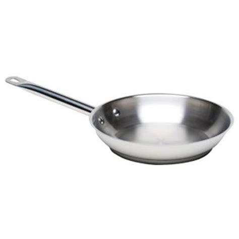Frypan Hello stainless steel frypan 28cm frying pan fry pan buy at drinkstuff
