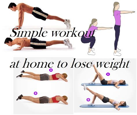 exercises for home to lose weight the best burning and