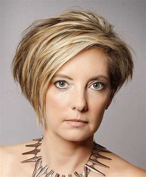 Asymmetrical Haircuts For Women Over 40 With Fine Har | 20 short hair styles for women over 40 short hairstyles