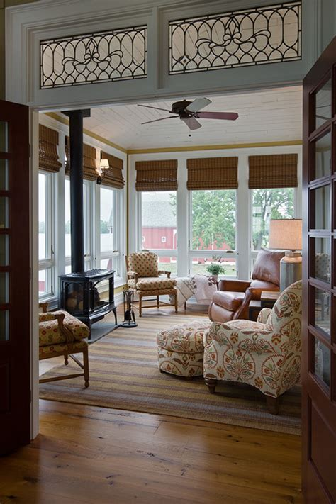 Sun Windows Decor 11 Pretty Sunrooms To Town Country Living